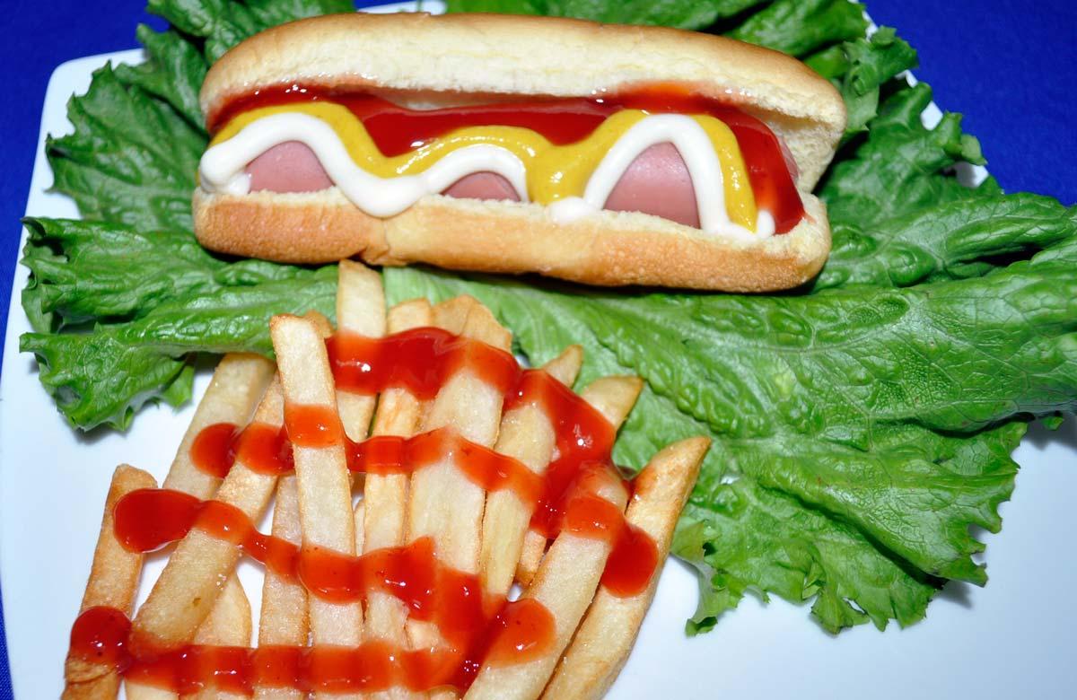 Hot dogs - Comida para fiestas infantiles