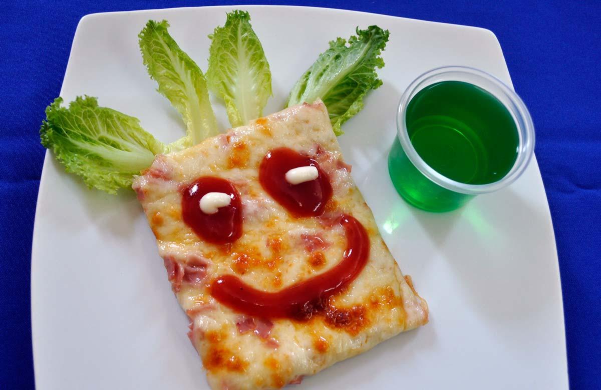 Pizza - Comida para fiestas infantiles
