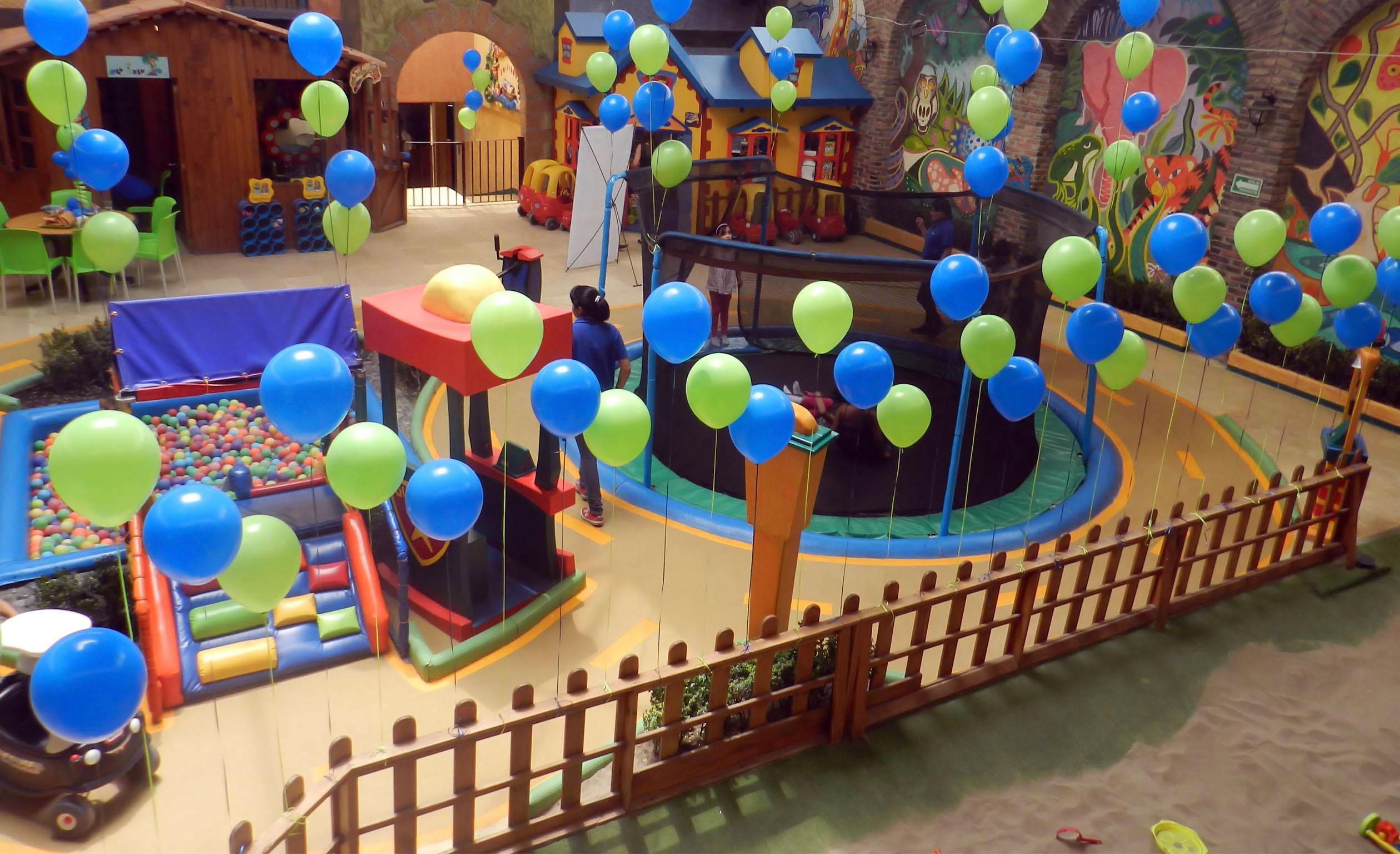 Servicios Incluidos de Salón de Fiestas Infantiles en Ciudad de México